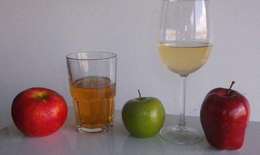 Яблочное вино со смородиной