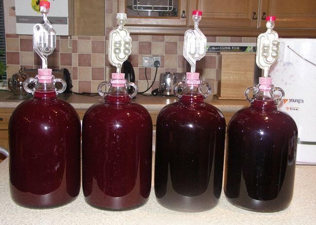 Cherry švestka víno