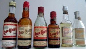 Fotografija različitih vrsta ruma Rhum Chauvet, durhum.com