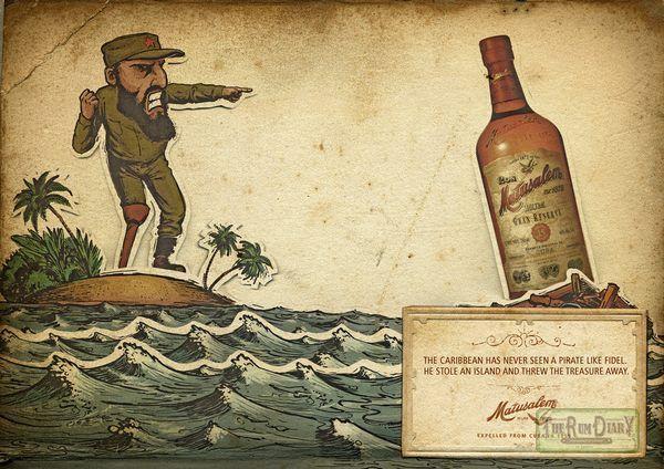 Реклама рома Матусалем