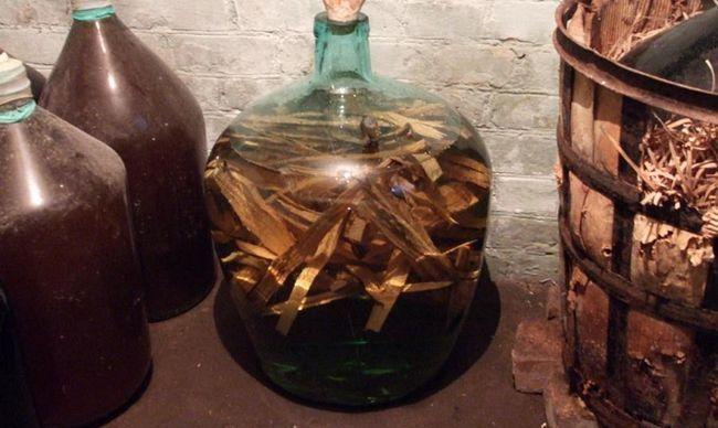 Самогон со вкусом виски на дубовой коре