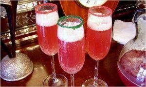 Сервировка праздничного стола – украшение коктейлей