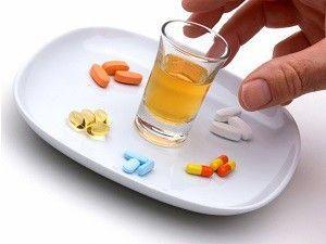 Устранение похмелья с помощью лекартств