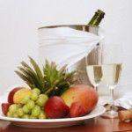 Сочетание шампанского с напитками и блюдами