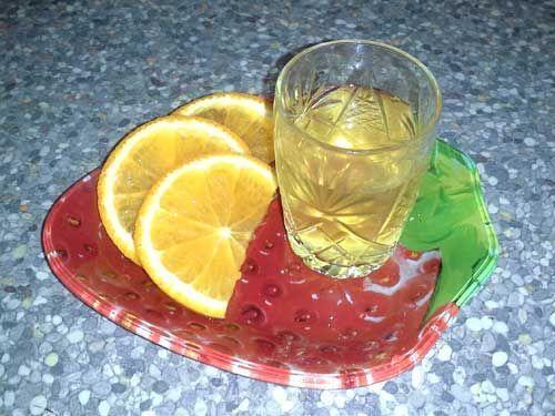 Солнечная апельсиновая настойка в домашних условиях