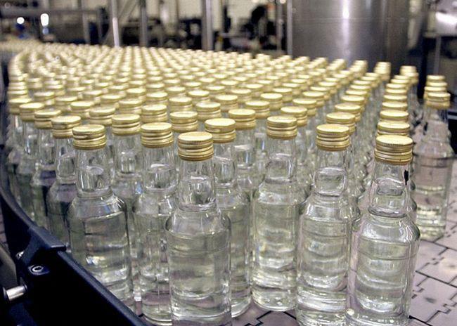Производство столичной водки