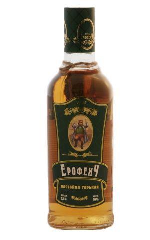 Старинный рецепт настойки «eрофеич»