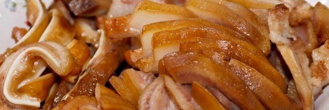 Свиные уши к пиву – хрустящая закуска на любой вкус