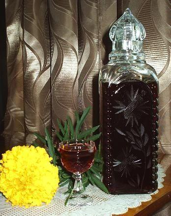 самодельный ликер из малинового варенья фото