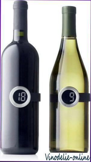 Температурный режим подачи вин
