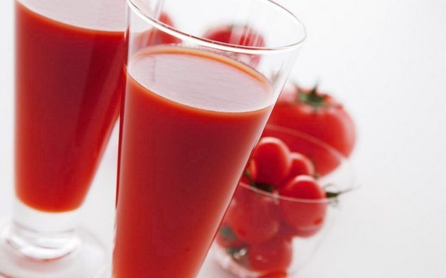 Томатный сок поможет с похмелья