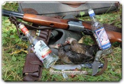Традиционная охотничья настойка на самогоне