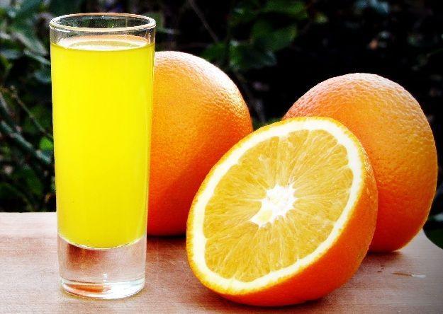 классическая апельсиновая наливка на водке фото