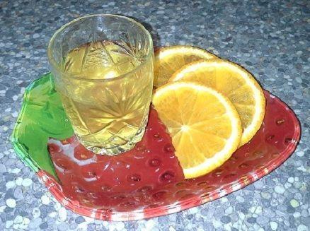 домашняя наливка на апельсиновых корках