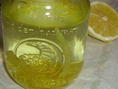 лимонно-мятная настойка фото