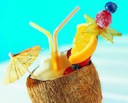 Тропический коктейль – источник витаминов
