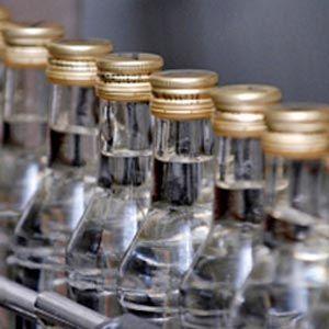 В украине сократились объемы производства водки
