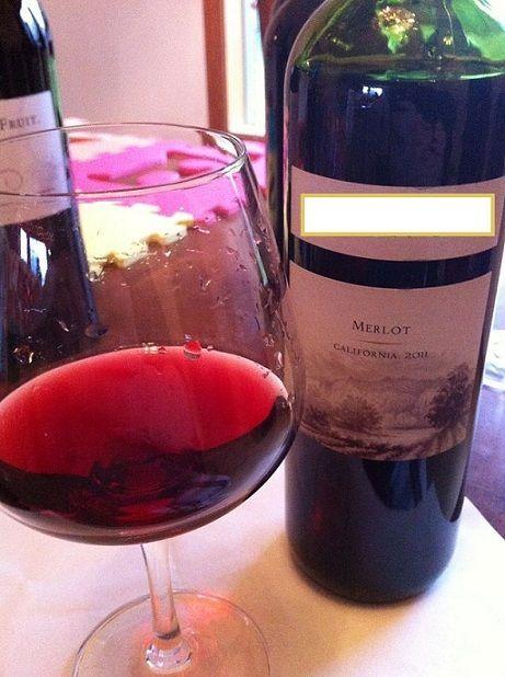 вино мерло из Калифорнии фото