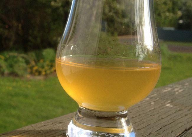 Meruňka víno bez přídavku vody