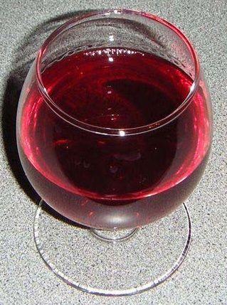 фото самодельного вина из голубики