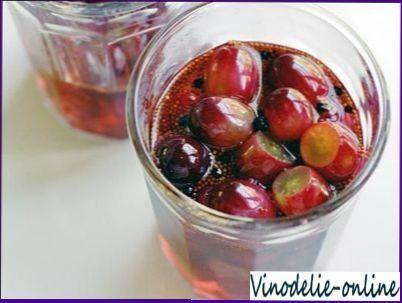 Grožđa voće marinirana