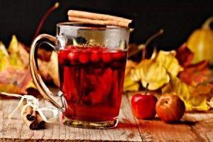 Витаминные напитки из красной рябины