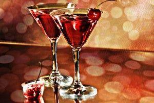 Вкусные коктейли на новый год