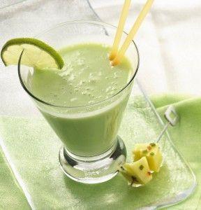 молочный коктейль с авокадо