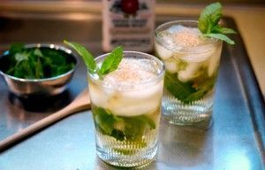 коктейли с мятой