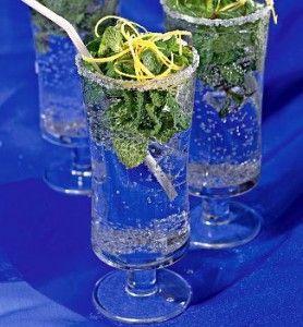 коктейли с мятой и газировкой