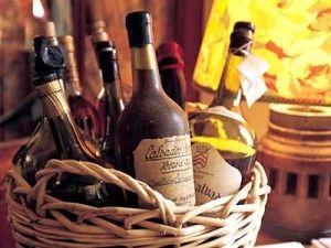 кальвадос в бутылках