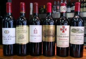 Знаменитые вина бордо